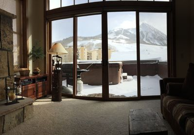 Stunning views of Mt. Crested Butte from nearly every room of the house!