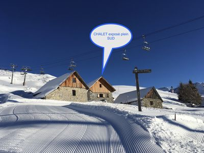 Photo for Alpine chalet on the ski slopes of ORCIERES-MERLETTE (Hautes-Alpes)