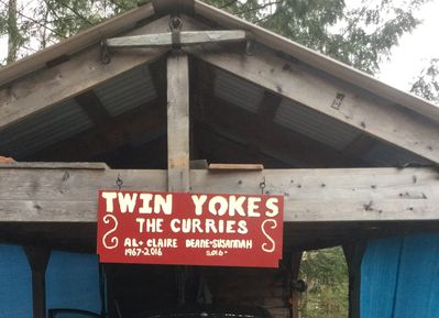 Welcome to Twin Yokes.  This is the covered garage