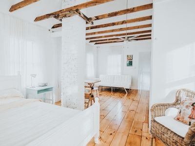Photo for An authentic, rustic luxurious little home in Old Town