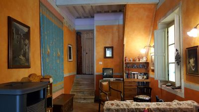 Photo for Historical center Massa Mar. artistic and welcoming apartment of 120 square meters