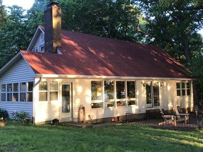 Kentucky LakeWaterfront Home, dock, 4 large BR, new kitchen in 2019