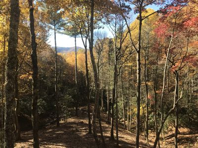 View in Fall from your private deck!