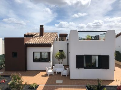 Photo for Luxury Family Villa in Caleta De Fuste 300m from beach - Highly Rated