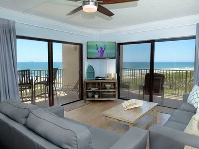 Photo for The Best Oceanfront Views In Cocoa Beach - Top Notch 3-bedroom Corner Unit!