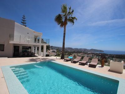Photo for Amigos - holiday home with private swimming pool in Moraira