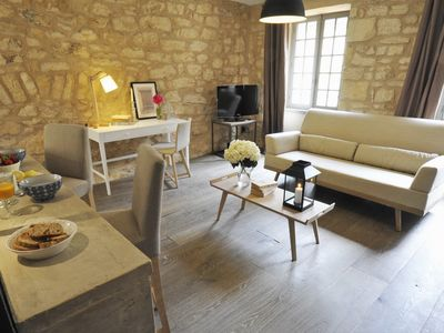 Photo for Le Balconnet -2 people- elegant duplex with a very nice view on the cathedra of Sarlat