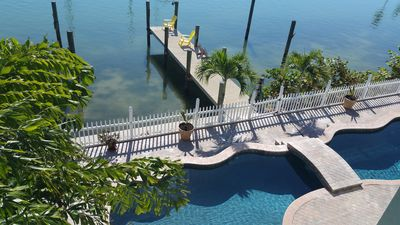 Photo for Amazing Views from Private Balcony on Treasure Island