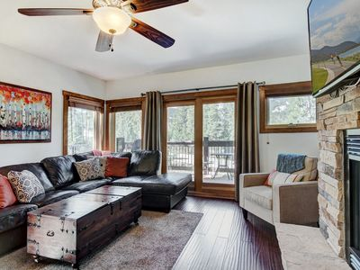 Photo for White Cloud Retreat: 4 BR / 3 BA Townhome in Breckenridge, Sleeps 14