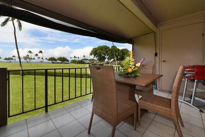 Ocean & Kaanapali Golf Course View from your patio