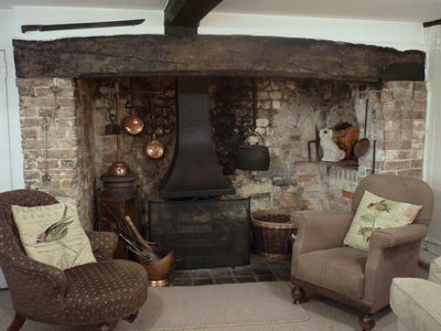the inglenook fireplace
