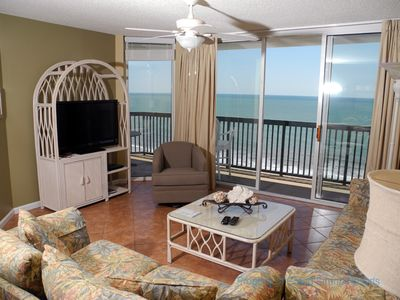 Photo for Ashworth Unit 1303! Stunning Ocean Front Condo! Book your get away today!