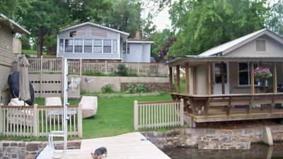 Photo for Lake Hamilton Lake House With Separate Dock House