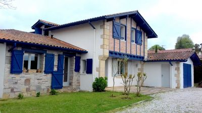 Photo for Close to St Jean de Luz, house of 220m2 with swimming pool