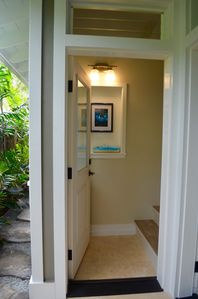 Hale Laiki awaits you thru your own private entrance.