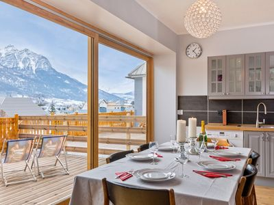 Photo for 350m to Ski Lifts in Town Centre Bright, Modern & Tasteful Apartment Briancon