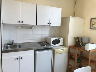 Photo for Nice 28 m² apartment for 4 people, near train station and beaches (# 1)