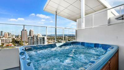 Photo for Wings Resort Penthouse With Roof Top Spa