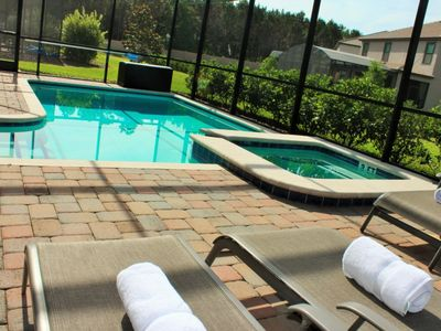 Gym, Water Park, Pool & Spa Home - 15-19 min from Disney
