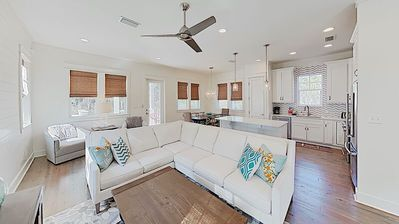 "Photo for ""Sandy Pines"" - 4BR/3.5 Bath in Beautiful Seagrove - Walk to the Beach!"