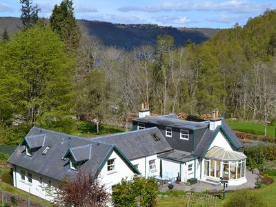Photo for Large country house next to Loch Ness with Hot Tub