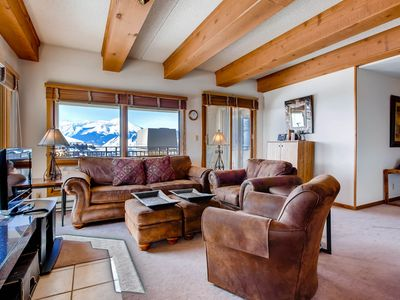 Photo for Top Floor 2 Br Unit- Views of the Mountains