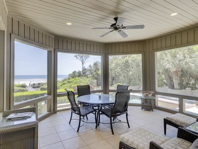 Photo for Oceanfront VIP 5 Bedroom Retreat in Sea Pines with Private Pool