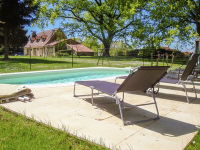 Photo for Relax in this comfortable house with large garden and heated swimming pool.