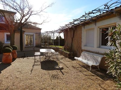 Photo for House in L'Isle-sur-la-Sorgue with Parking, Internet, Washing machine, Pool (252031)
