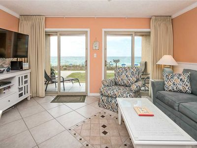 Photo for 02- Paradise awaits you at this BEACH FRONT Condo that sleeps 6! Coral Reef Club