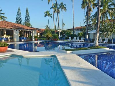 Photo for Barra de Navidad 1Bedroom Villa with 2 Resort Pools, Aquabar & Restaurant!