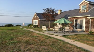 Photo for Beachfront Classic New England Home With Direct Views Of Long Island Sound