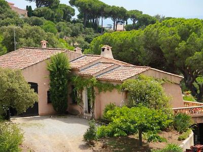 Photo for House 1 km from the center of Sainte-Maxime with Parking, Internet, Washing machine, Pool (115183)