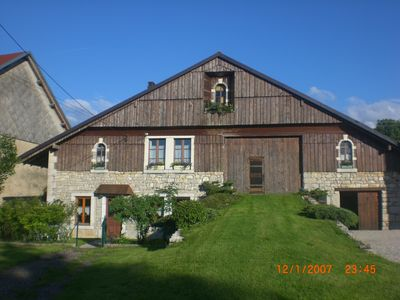 Photo for Grandfather old farmhouse in La Chenalotte, village 20 km from Switzerland