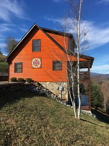 Photo for River Country Cabin- Blue Ridge Mountain Views for Miles!