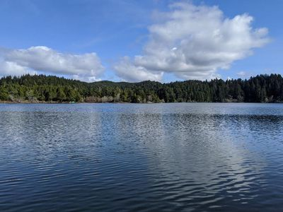 Munsel Lake Landing is a 4 bedroom, 2 bath 1600 square foot lake front home