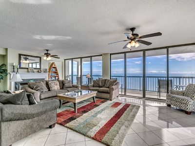 Photo for Wonderful 4 Oceanfront Bedroom Ocean Bay Club 1701 Penthouse
