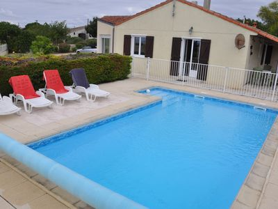 Photo for 4 Bedroom detached chalet with private swimming pool and outstanding view