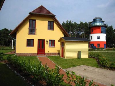 Photo for Cottage with fireplace - 4 bedrooms - Glowe - Cottage on the lighthouse - RZV