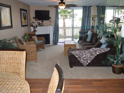 Photo for 2nd unit in from the ocean in D building-Newly Remodeled-Shows Like a Model Home