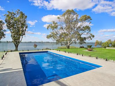 Photo for Yarrawonga's NEW big, beautiful, waterfront house sleeping up to 20 guests