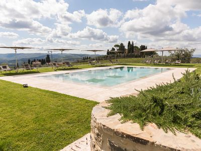 Photo for Villa San Martino, Casa Soparchi is a luxury apartment in a farmhouse, wiht pool, air conditioning,