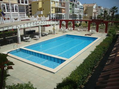 Photo for Lovely Apartment with use of Pool near the Sea.