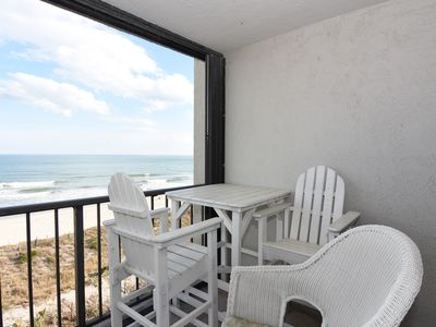 Photo for Station One-5F Beach Retreat-Oceanfront condo, community pool, tennis, beach