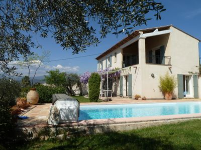 Photo for Country house in village with pool and panoramic view