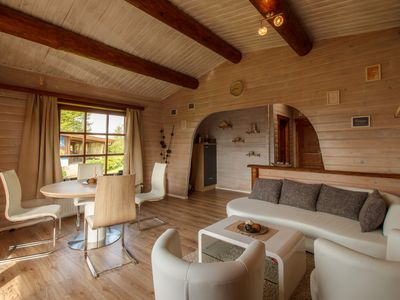Photo for Log cabin on Walrand directly on the hillside, fantastic view, modern furnishings