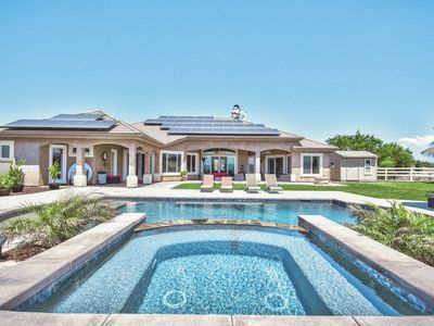 Photo for Hill Top Estate In The Heart Of The Wine Country W/incredible Views!!
