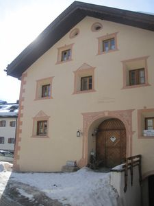 Photo for oldest Engadine farmhouse located in the middle of the mountain village of Sent