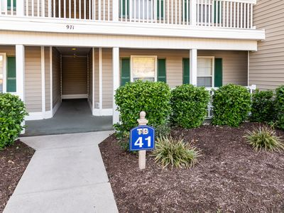 Photo for True Blue Condo Golf Course Lots of Space Great Decor Tennis/Pool Access 41D