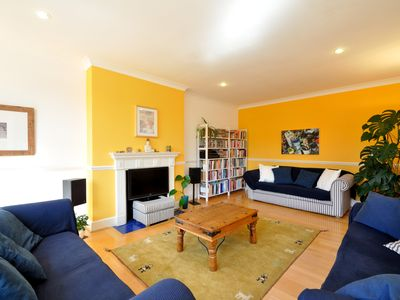 Photo for UP TO 20% OFF - Colourful and vibrant 3 bed in leafy Hampstead (Veeve)